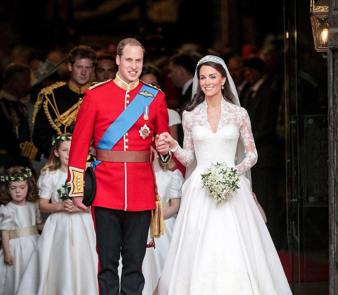حفل زفاف الأمير ويليام وكيت ميدلتون في 29إبريل 2011-الصورة من أنستغرام