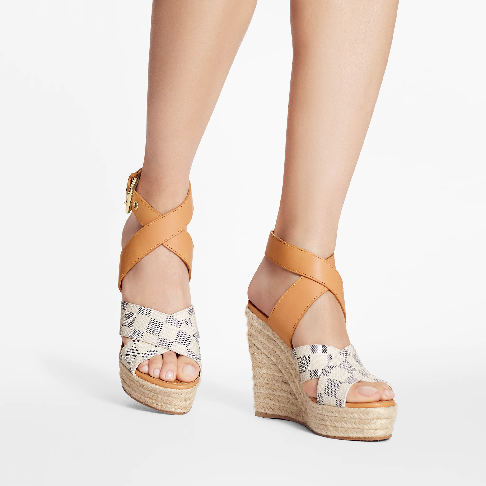 Starboard wedge LV sandals