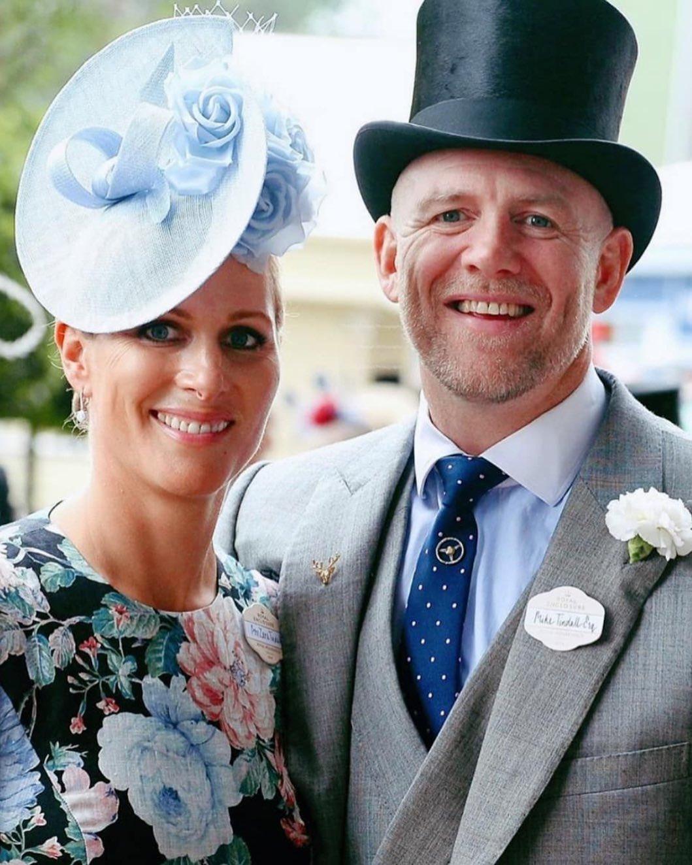 زارا وزوجها مايك تيندال أنجبا الحفيد العاشر للملكة إليزابيث-الصورة من أنستغرام