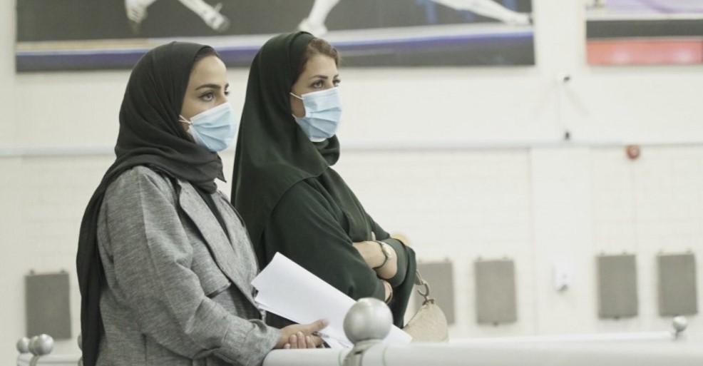 خلال تكريم الحكمتين السعوديتين