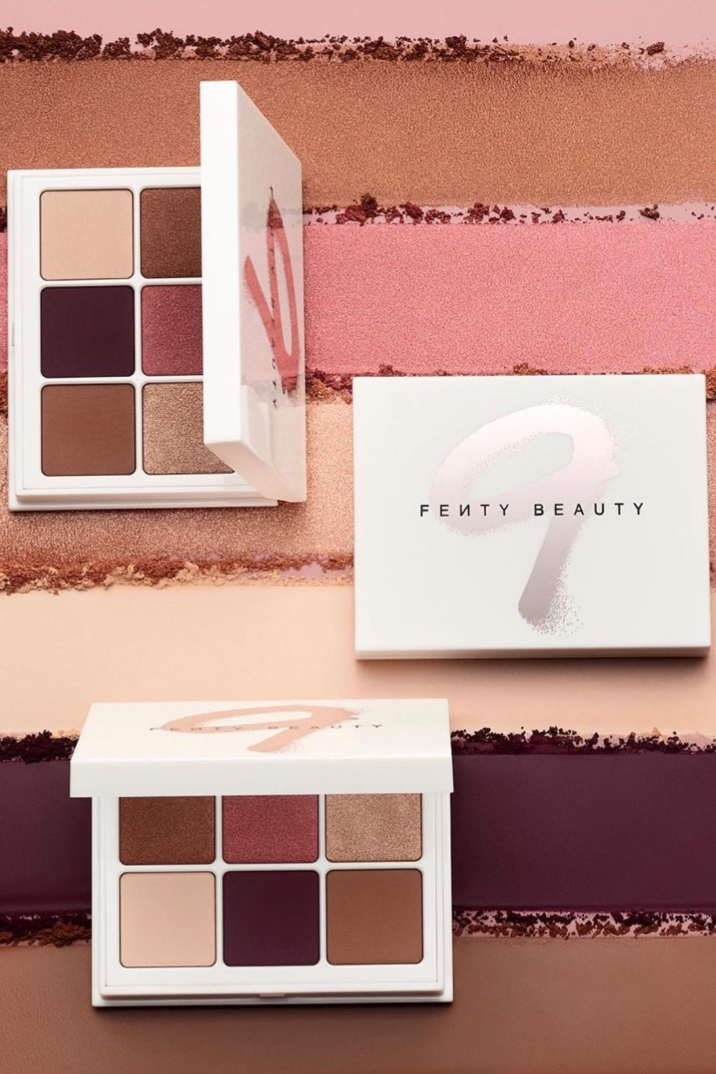 Fenty Beauty Snap Shadows Mix & Match Eyeshadow Palette in Wine