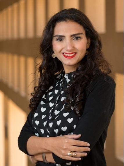 الكاتبة المصرية ريم بسيوني