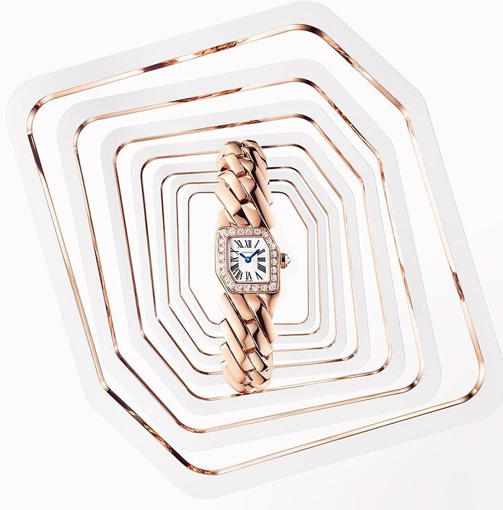ساعة من كارتييه(الصورة من إنستغرام كارتييه)