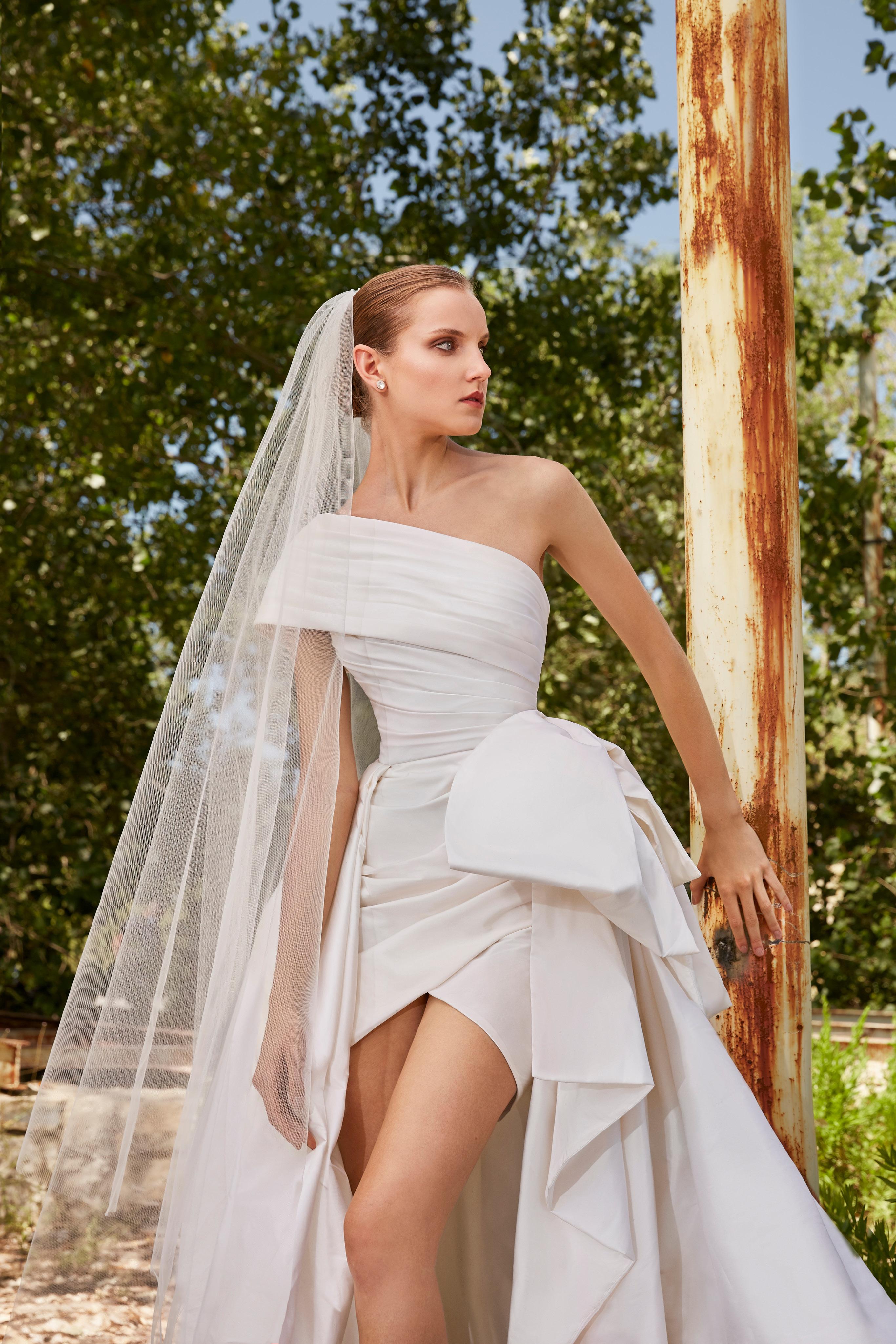 فستان من تصميم إيلي صعب