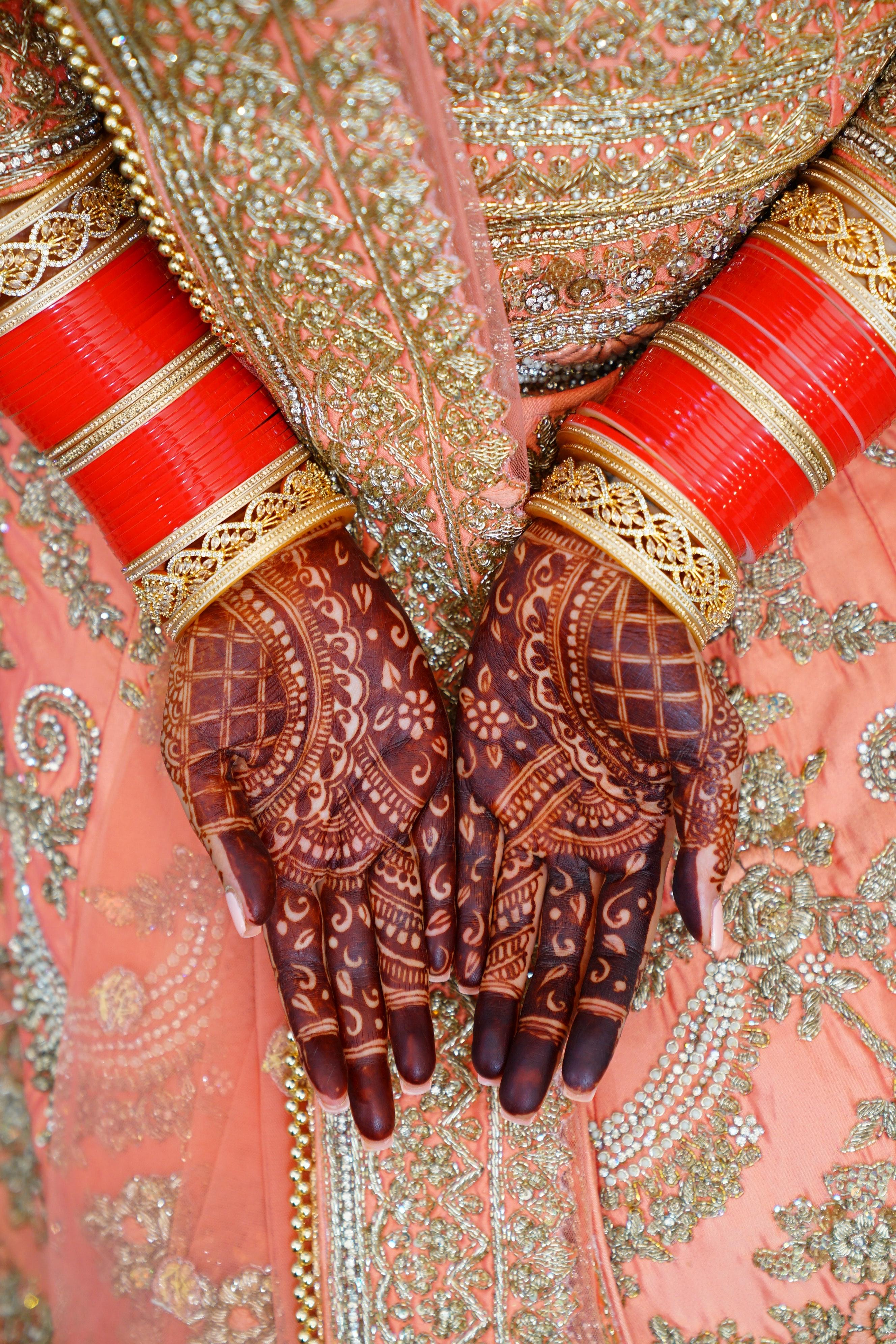 نقش حناء هندي
