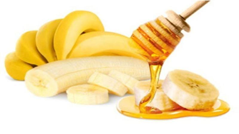 خلطة العسل والموز
