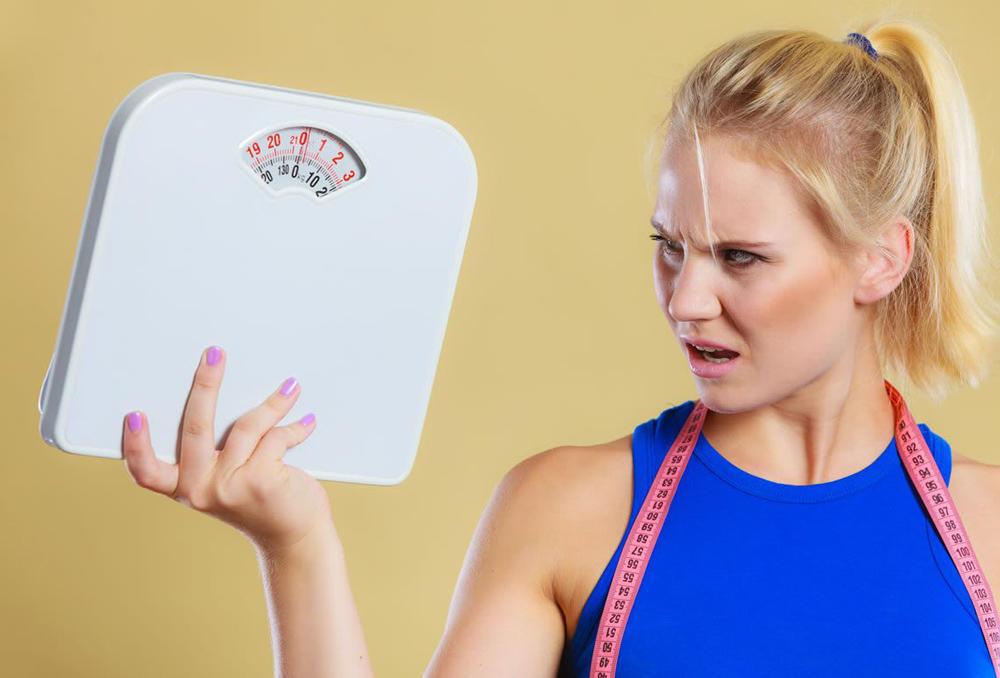 أسباب زيادة الوزن مع الرجيم