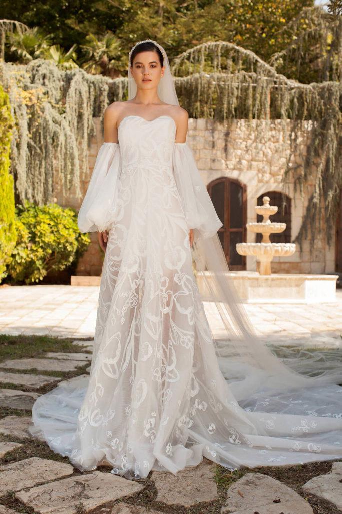 فستان من تصميم جورج حبيقة