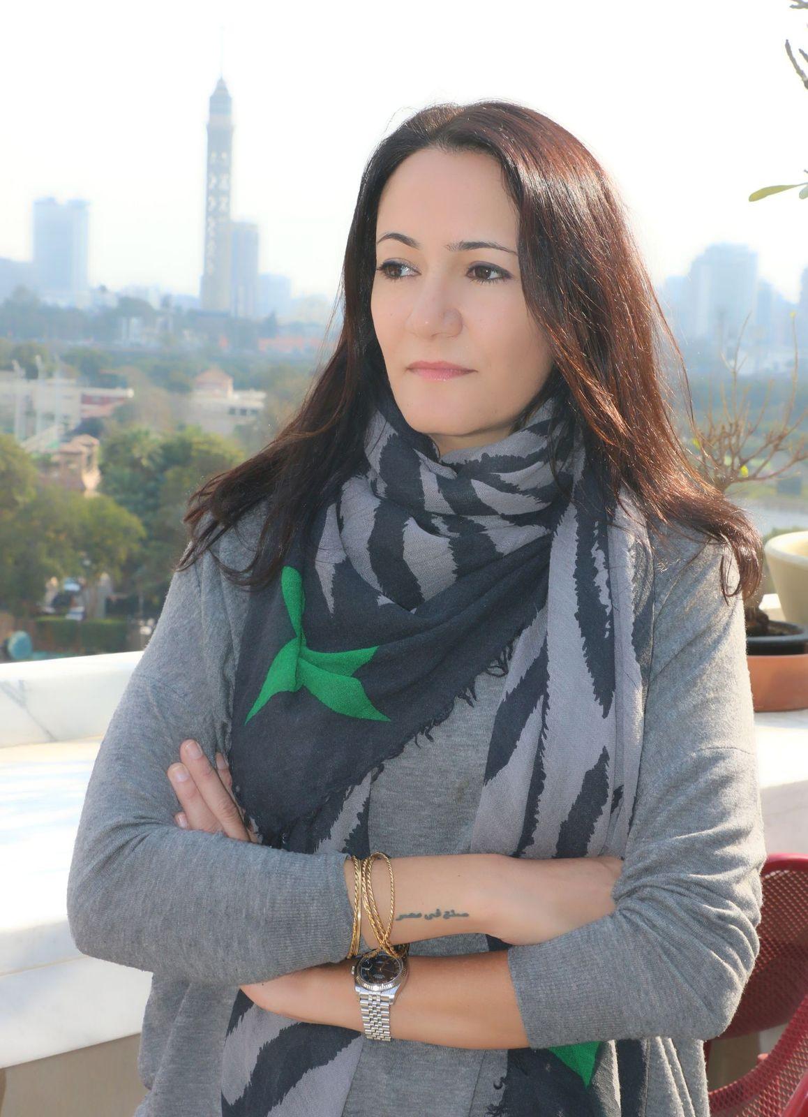 المخرجة المصرية مريم أبو عوف