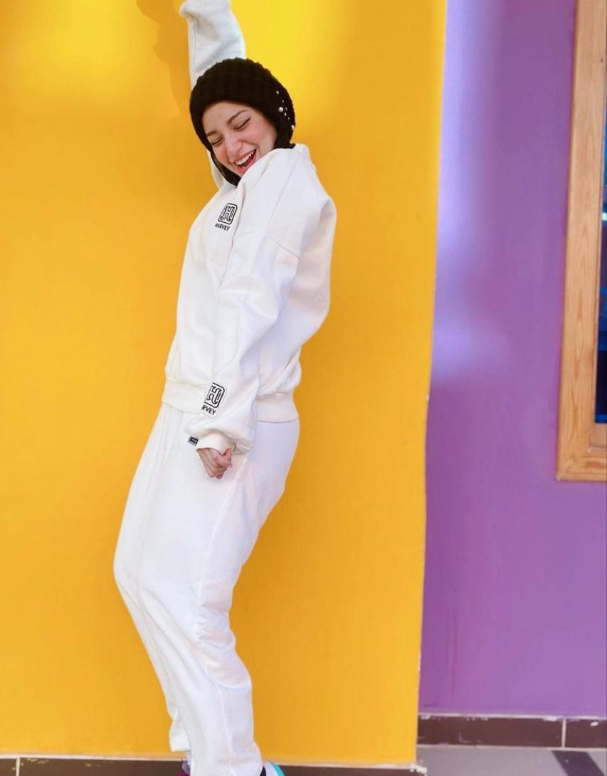 خيارات الأزياء الرياضية من مريم سيف