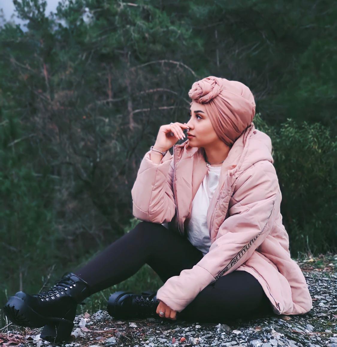 تنسيق كاجوال في الشتاء من ريتا عدنان