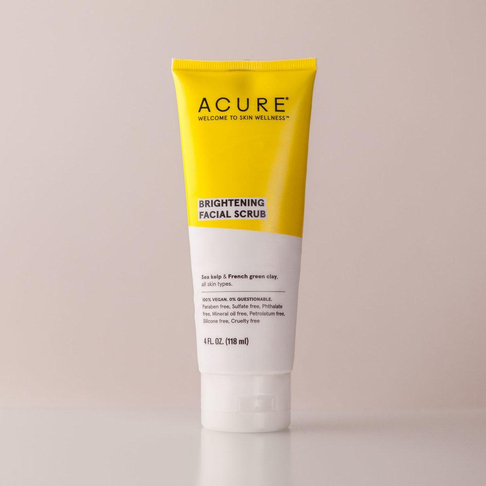 Acure Brightening Facial Scrub