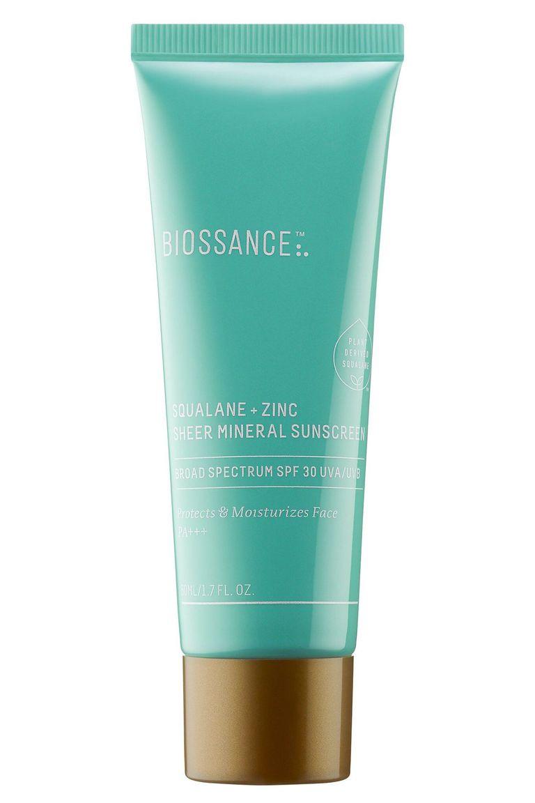 Biossance Squalane + Zinc Sheer Mineral Sunscreen SPF 30