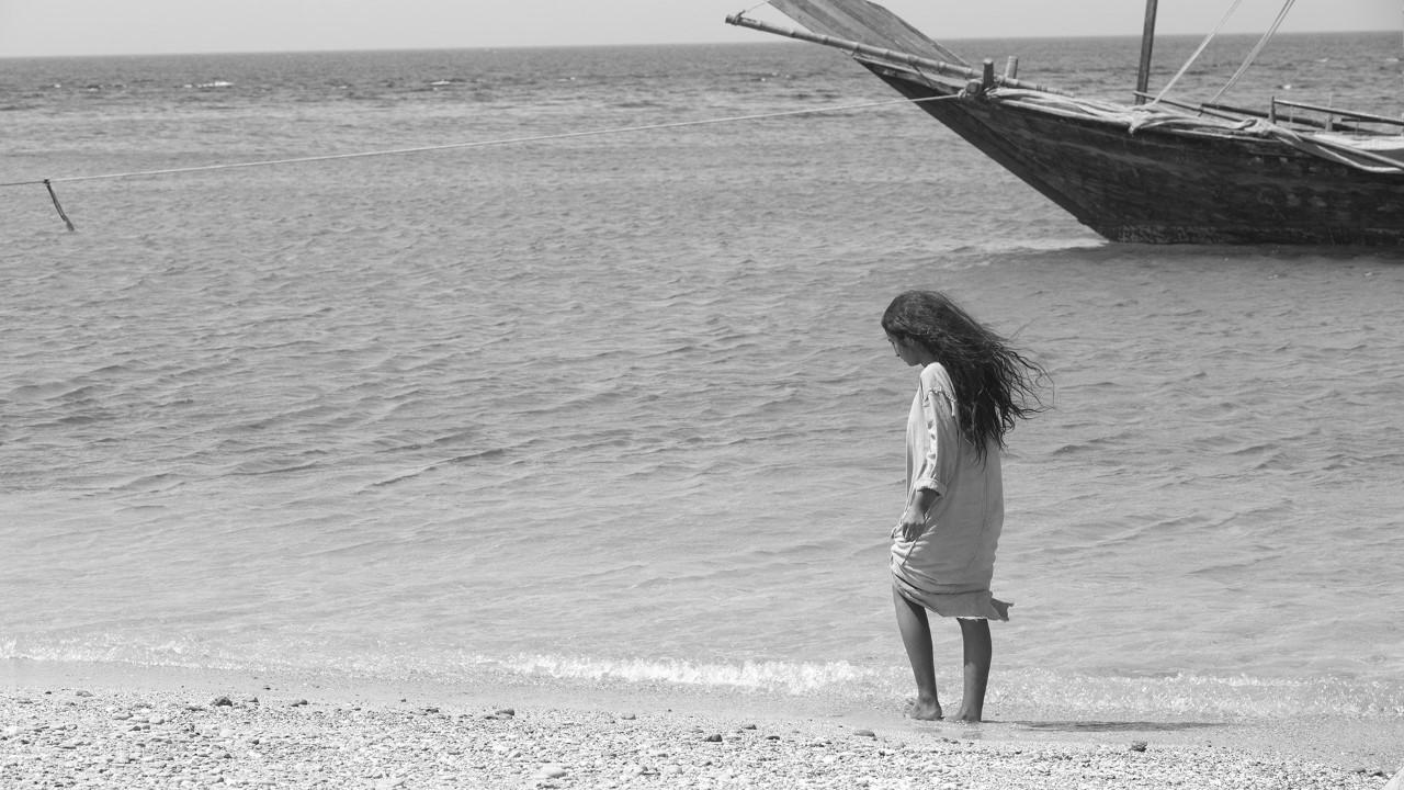 بسيمة حجار من كواليس فيلم سيدة البحر-