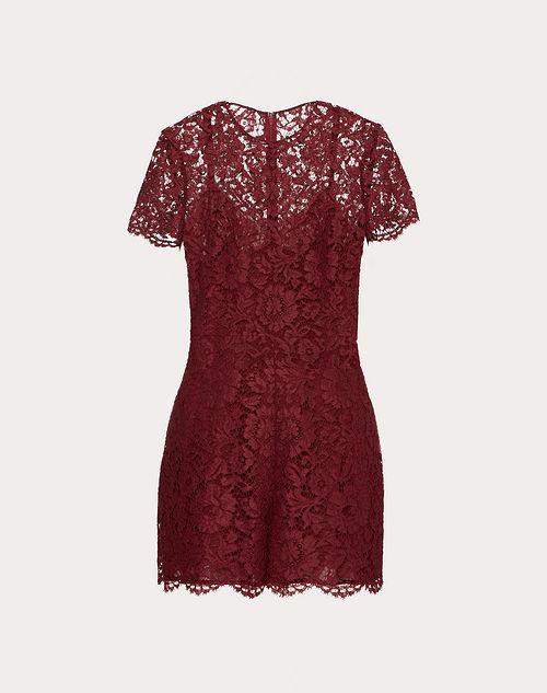 فستان نبيتي قصير من فالنتينو