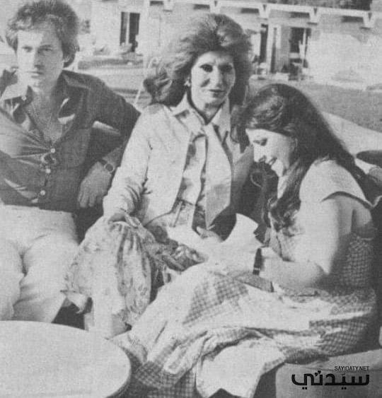 فايزة أحمد وزوجها الموسيقار محمد سلطان--