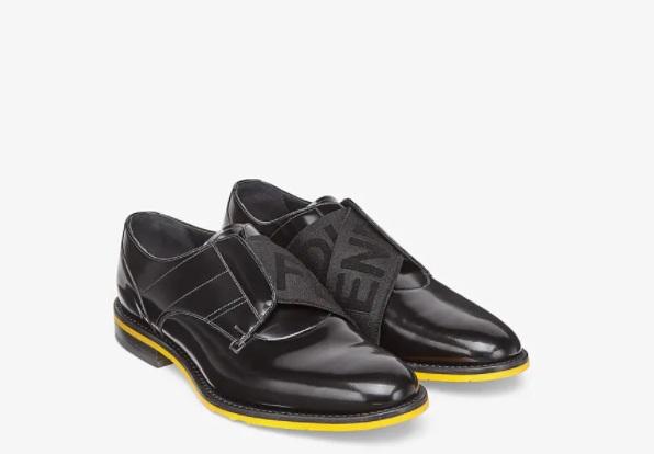 حذاء أسود من Fendi