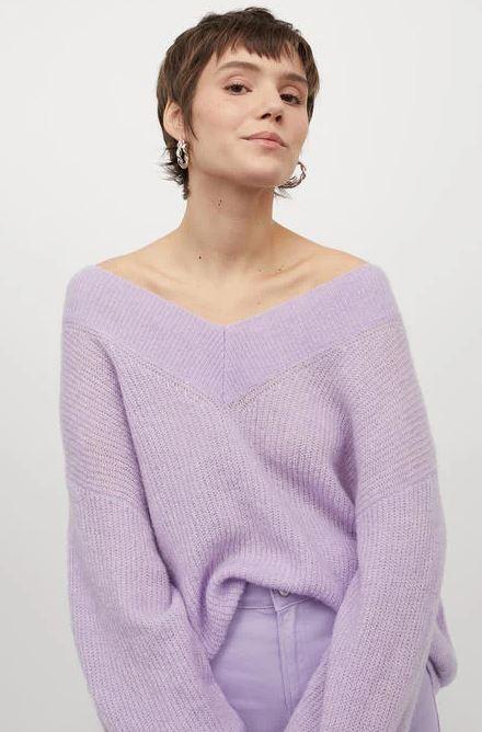 كنزة محبوكة من H & M اتش آند ام – صورة 6