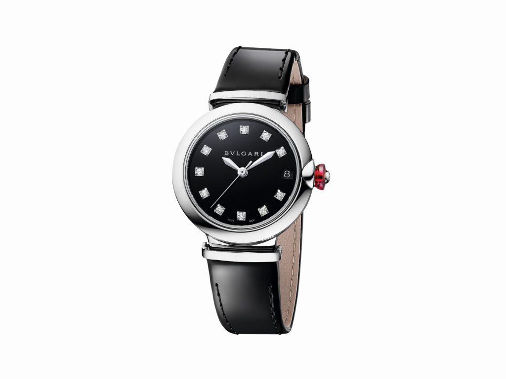 ساعة سوداء من بولغاري Bvlgari