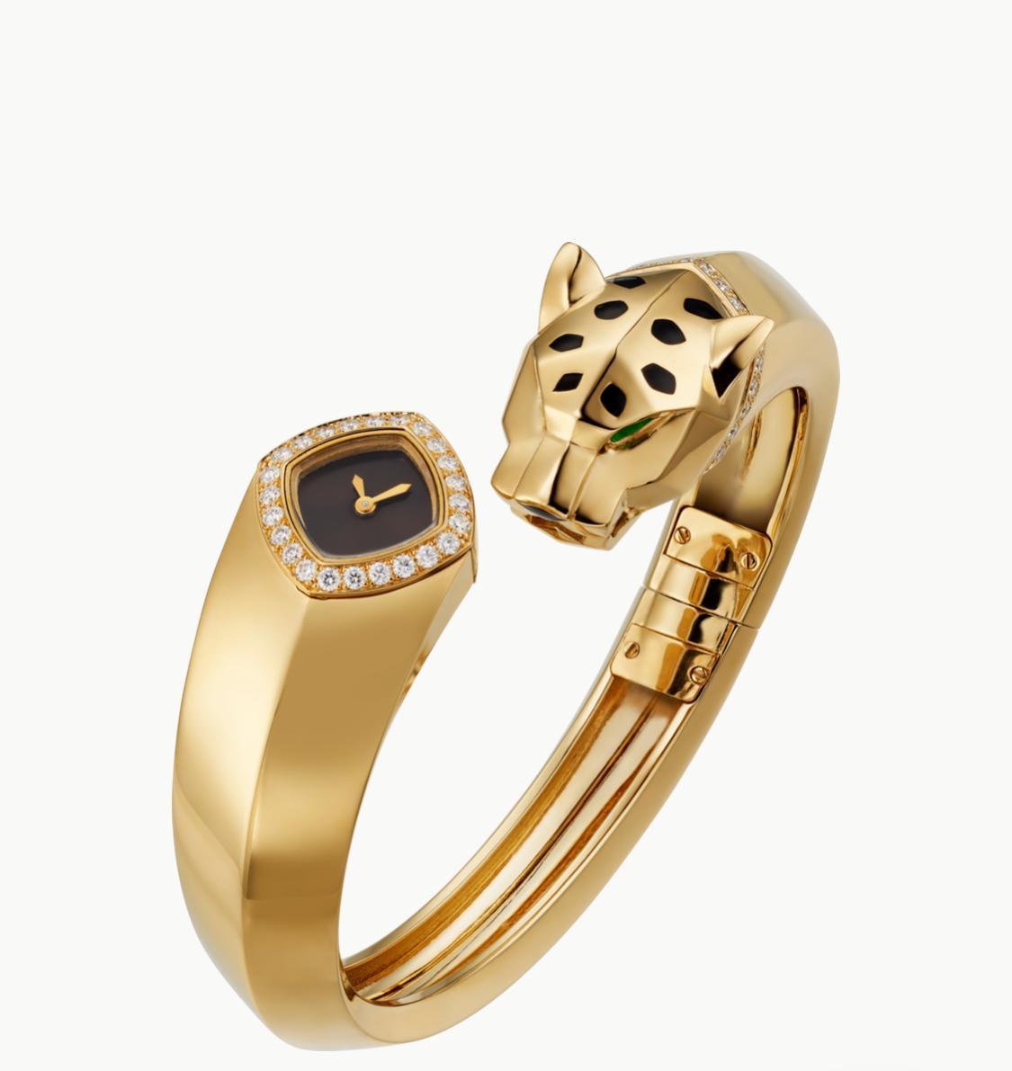 ساعة بانتير من كارتييه «Cartier»