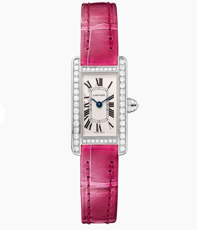 ساعة مجموعة «تانك أميريكان» من كارتييه «Cartier»