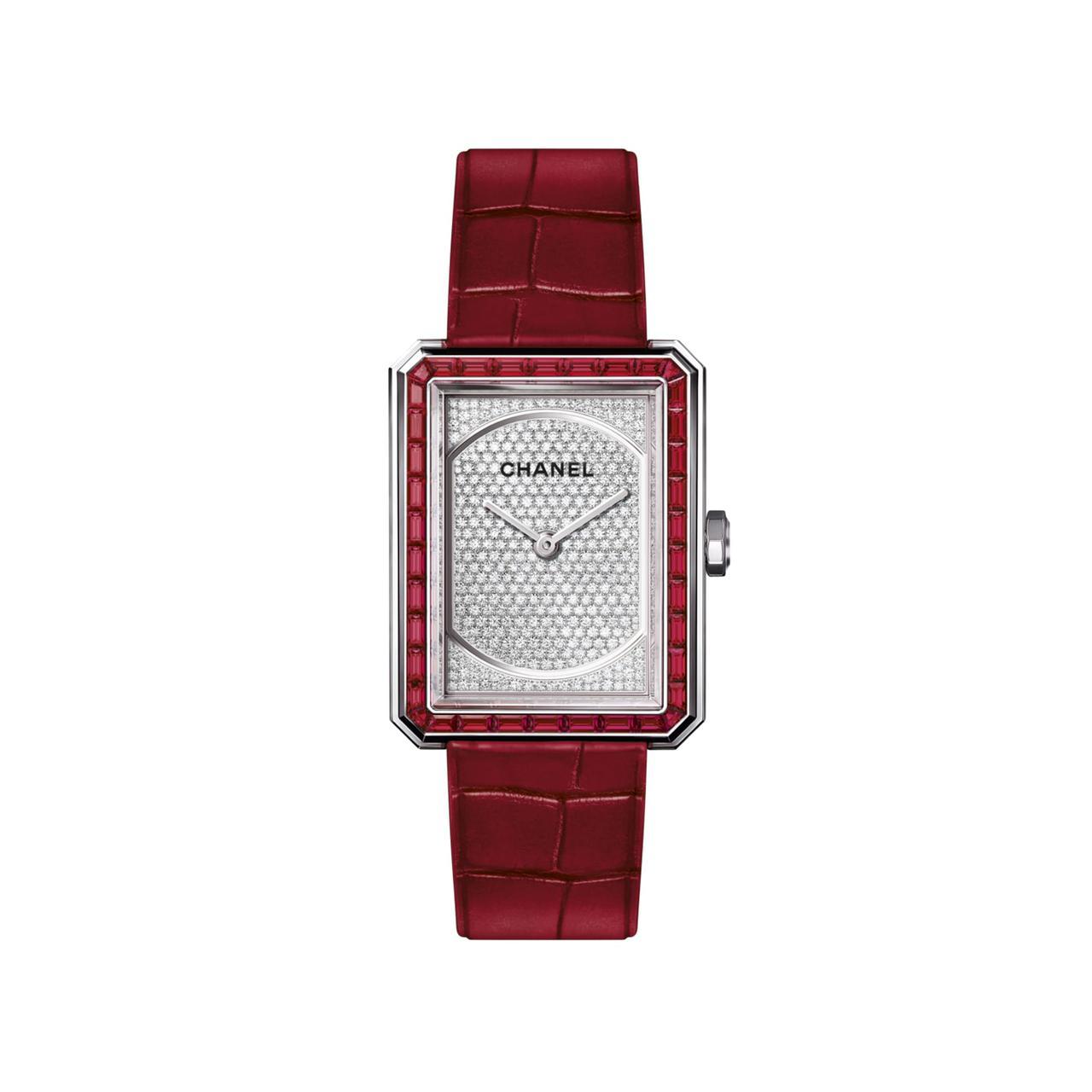 ساعة Première Boy Rubies من شانيل Chanel