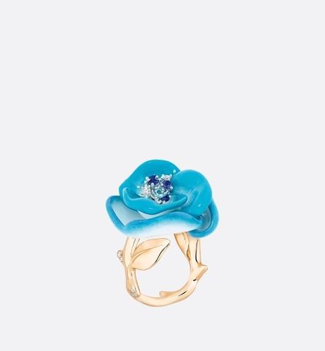 من ديور Dior خاتم من ديور من الذهب والتورمالين