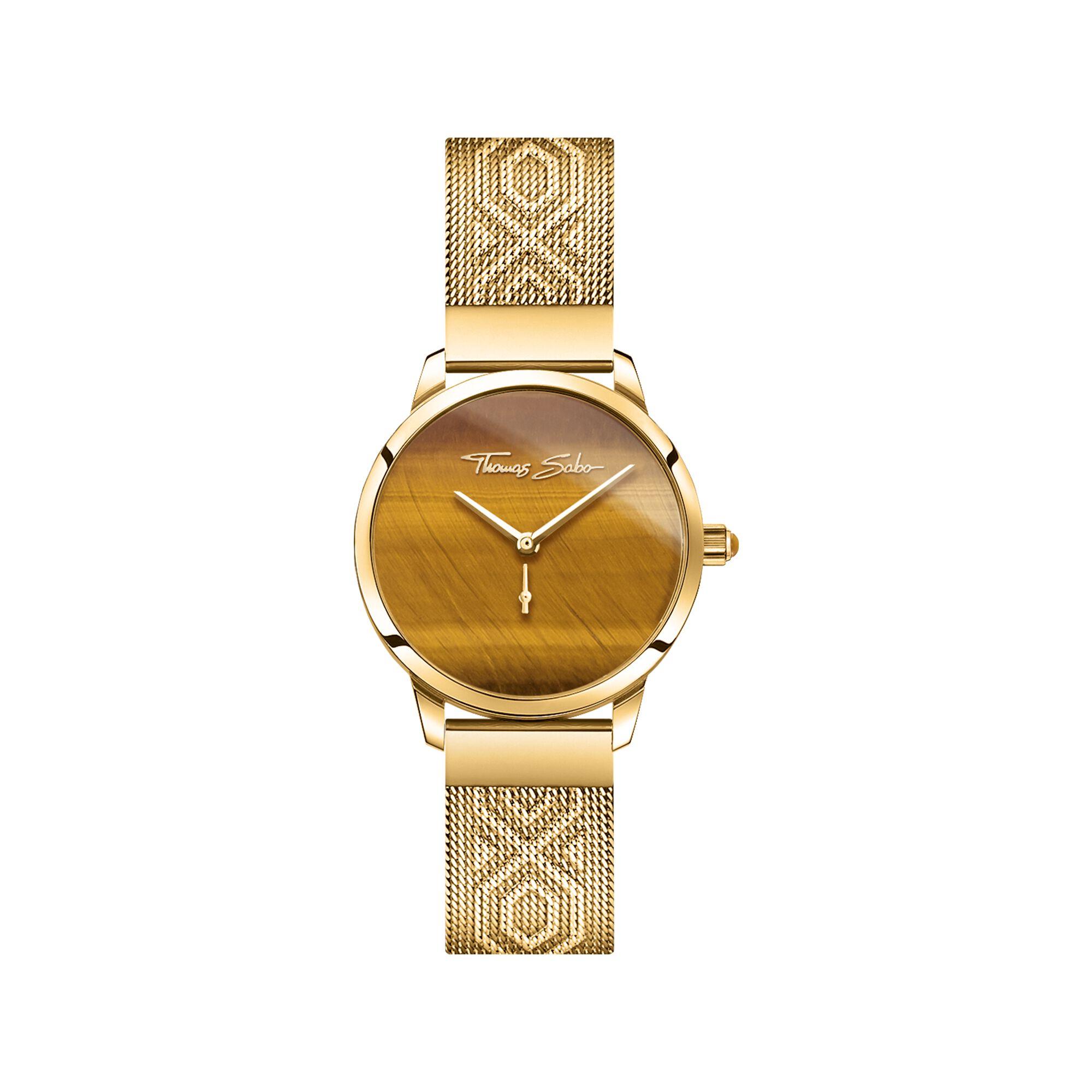 ساعة من حجر عين النمر من توماس سابو Thomas Sabo