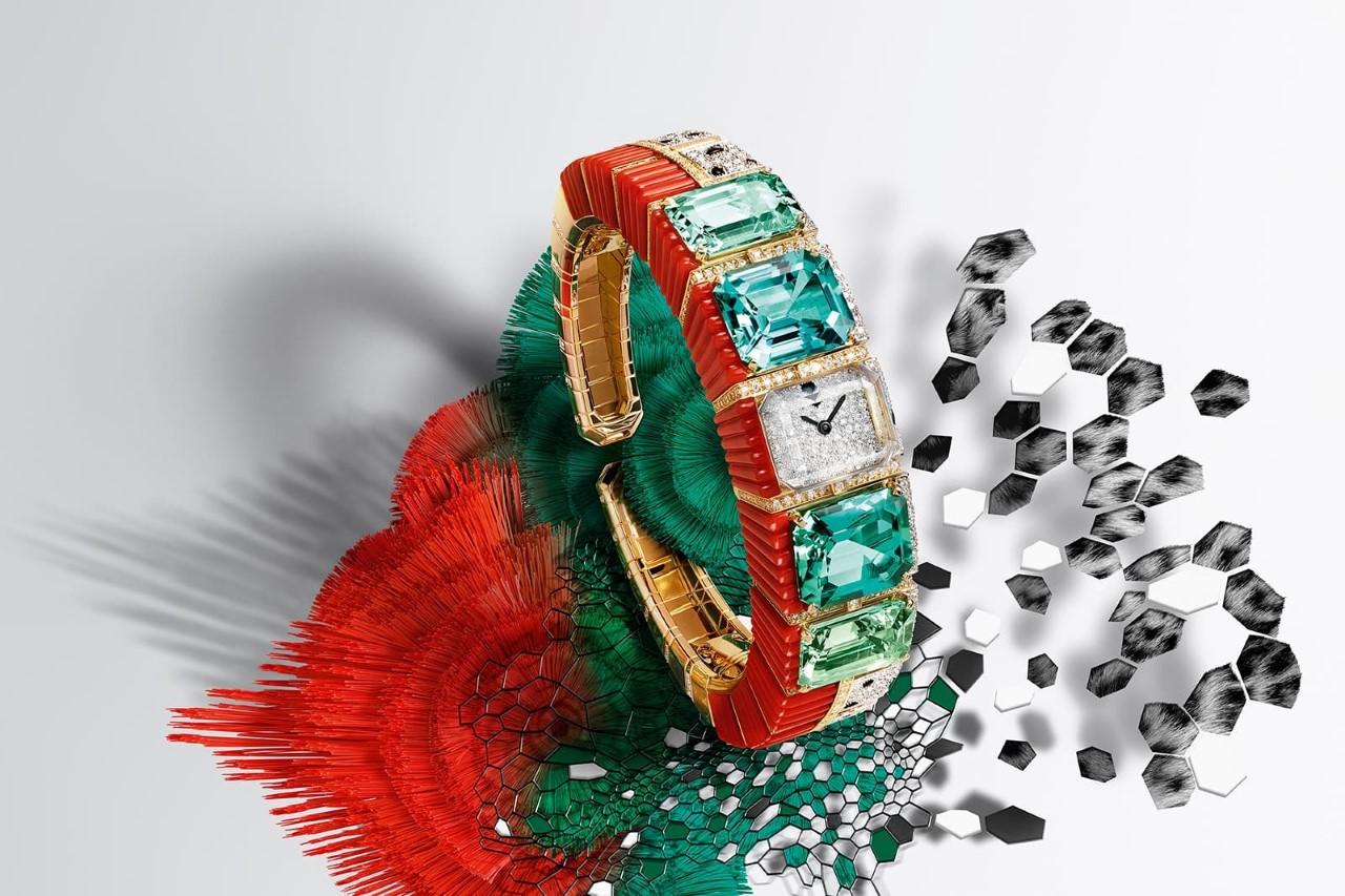 ساعات مستوحاة من الطبيعة من كارتييه Cartier