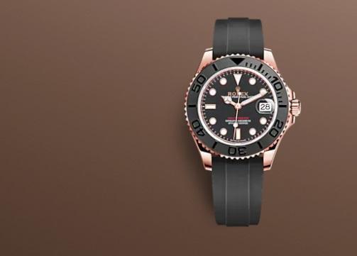 ساعة سوداء من رولكس «Rolex»