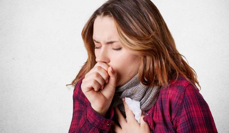 السعال من أعراض حساسية الغبار