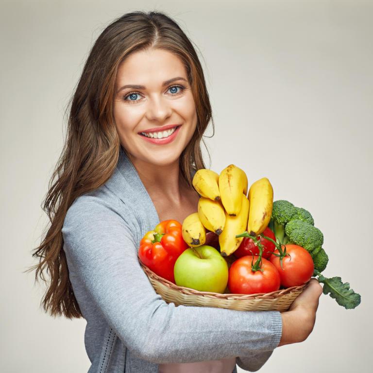تناولي 5 مرات من الفواكه والخضروات يومياً