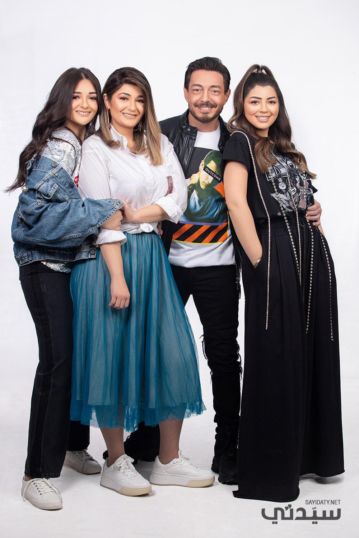 """عائلة أحمد زاهر تتصدر السوشيال ميديا بجلسة تصوير خاصة ل """"سيدتي"""" سيدتي"""