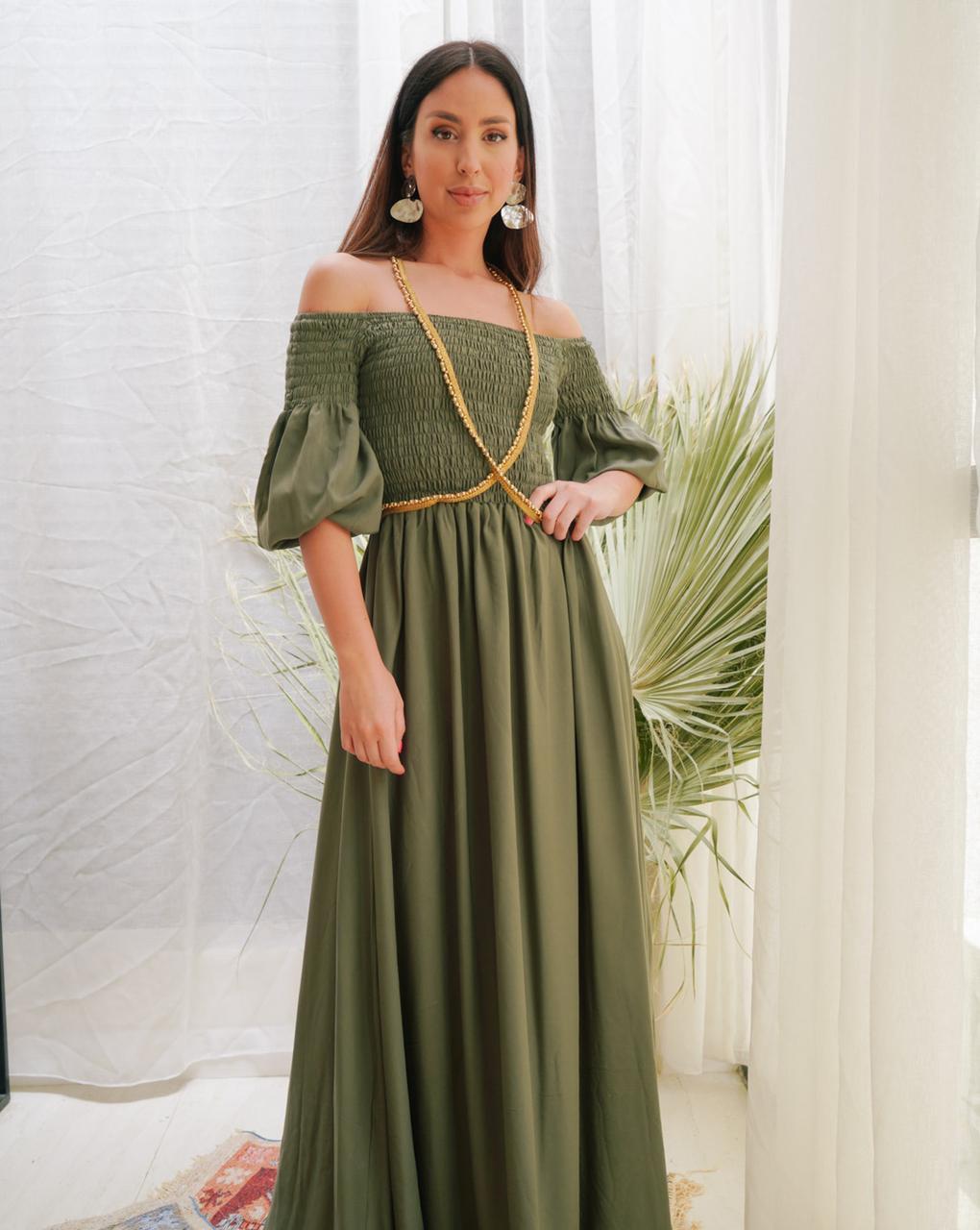 فستان من المصممة هبه فراش