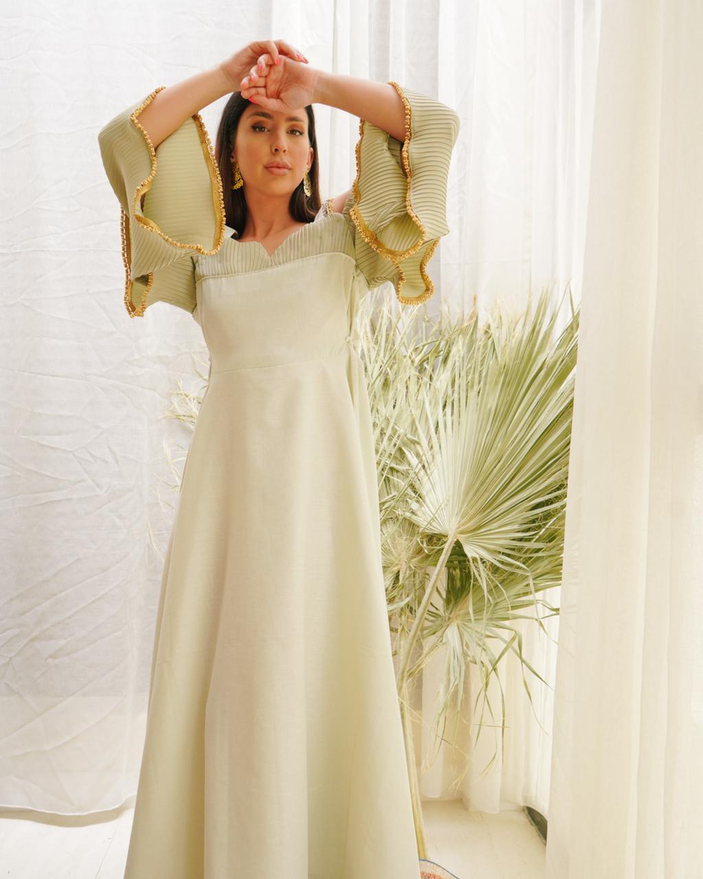 فستان لمناسبات رمضان والعيد