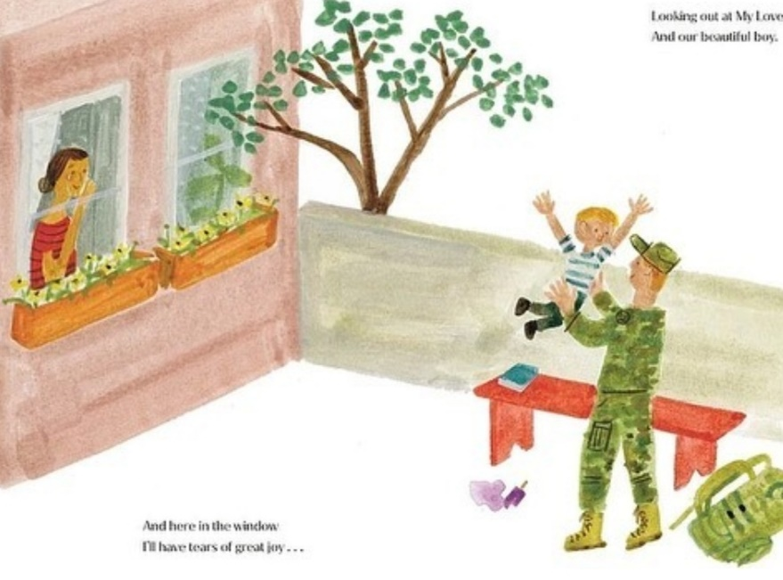 كتاب The Bench يركز على العلاقة الخاصة بين الأب والابن- الصورة من حساب ميغان ماركل على إنستغرام