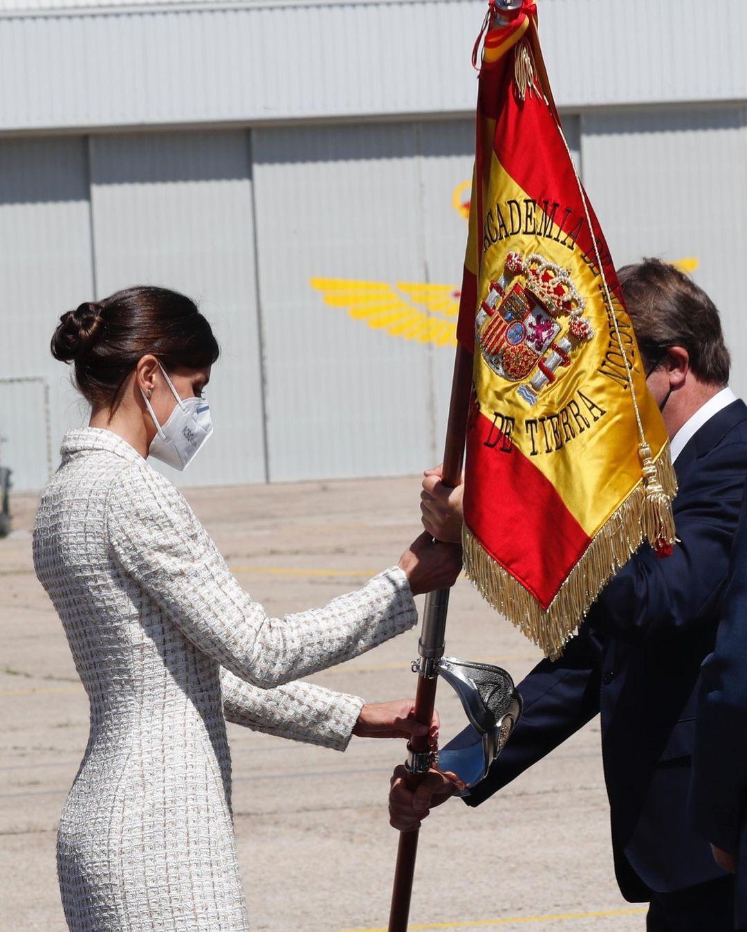 الملكة ليتيزيا-الصورة من حسابها بأنستغرام