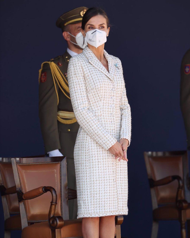 الملكة ليتيزيا ترتدي فستانا سبق وارتدته قبل 15عاما-الصورة من حسابها بأنستغرام