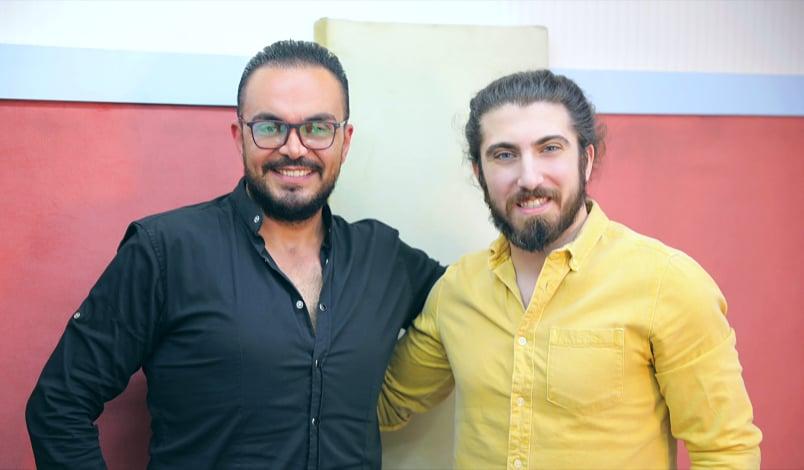 السدير مسعود و الزميل يامن ديب