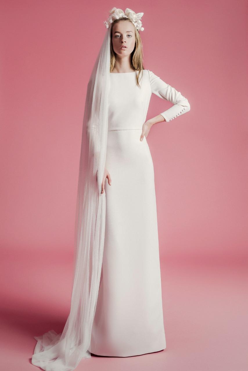 طرحة فستان زفاف طويلة من Sophie et voila