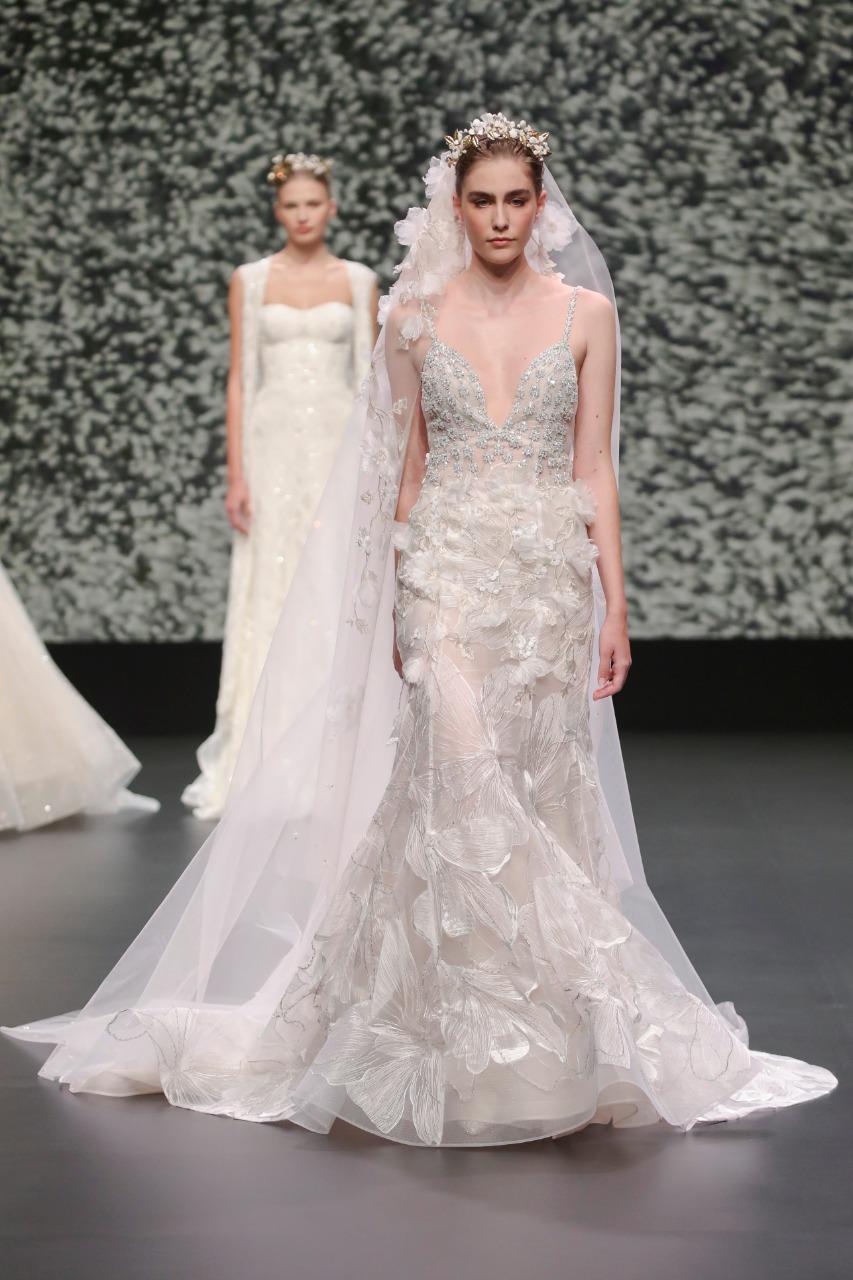 Vestal طرحة زفاف طويلة من