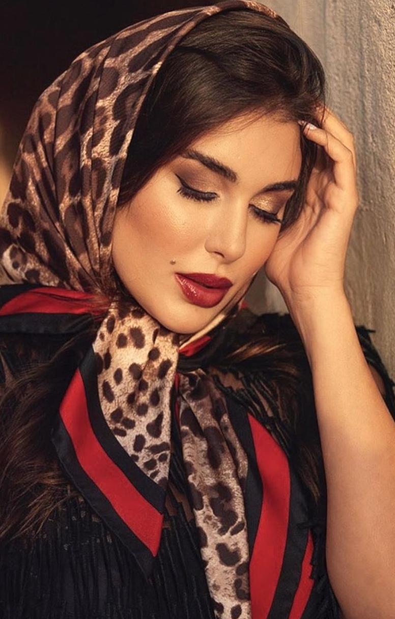 ياسمين صبري باحمر الشفاة الاحمر -الصورة من حسابها على الانستغرام