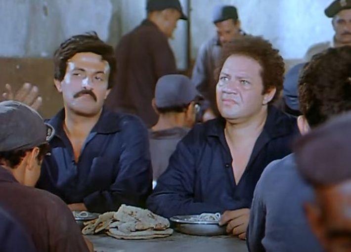 يحيى الفخراني وسمير غانم في أحد الأفلام