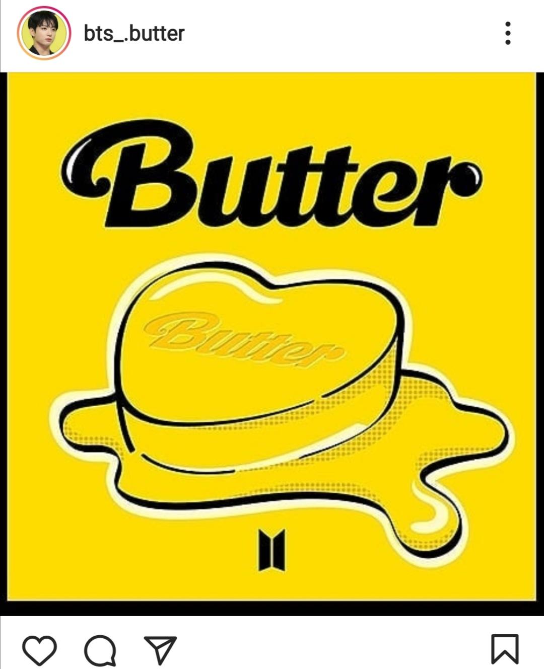 أغنية Butter تحصد ملايين المشاهدة- الصورة من حساب BTS على إنستغرام