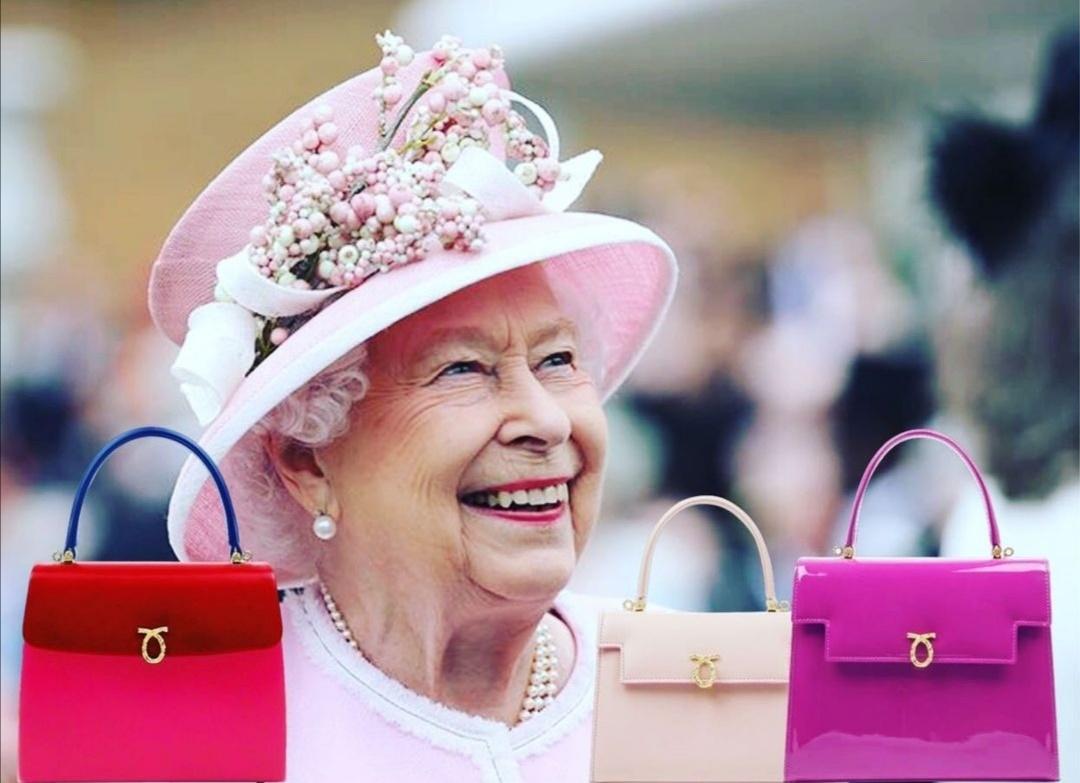 حقائب الملكة الزاهية- الصورة من حساب شركة Launer على إنستغرام