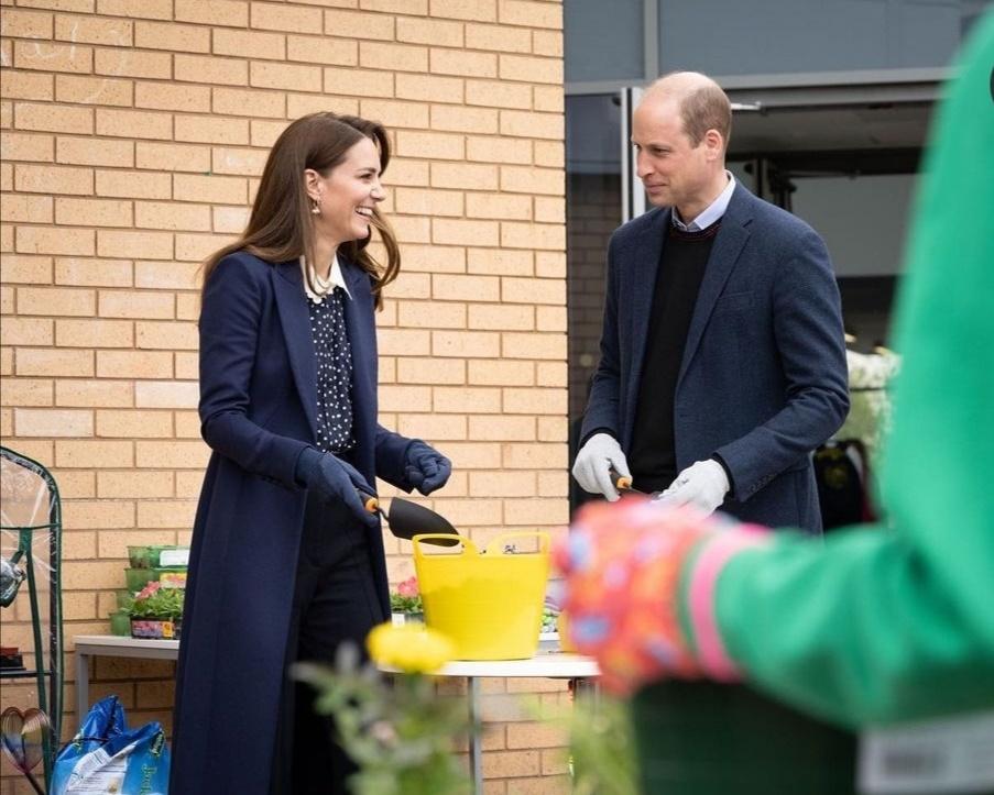 الأمير ويليام وكيت يدعمان الصحة العقلية- الصورة من حساب دوق ودوقة كامبريدج على إنستغرام