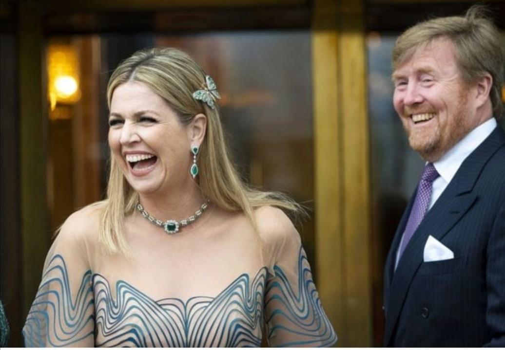 الملكة ماكسيما وزوجها الملك ويليم ألكساندر- الصورة من حساب الملكة ماكسيما على إنستغرام