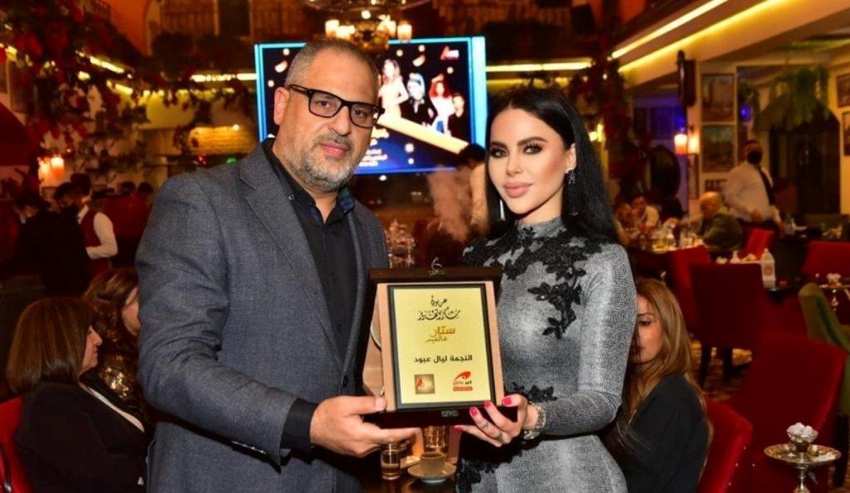 الإعلامي زكريا فحّام يكرّم ليال عبود