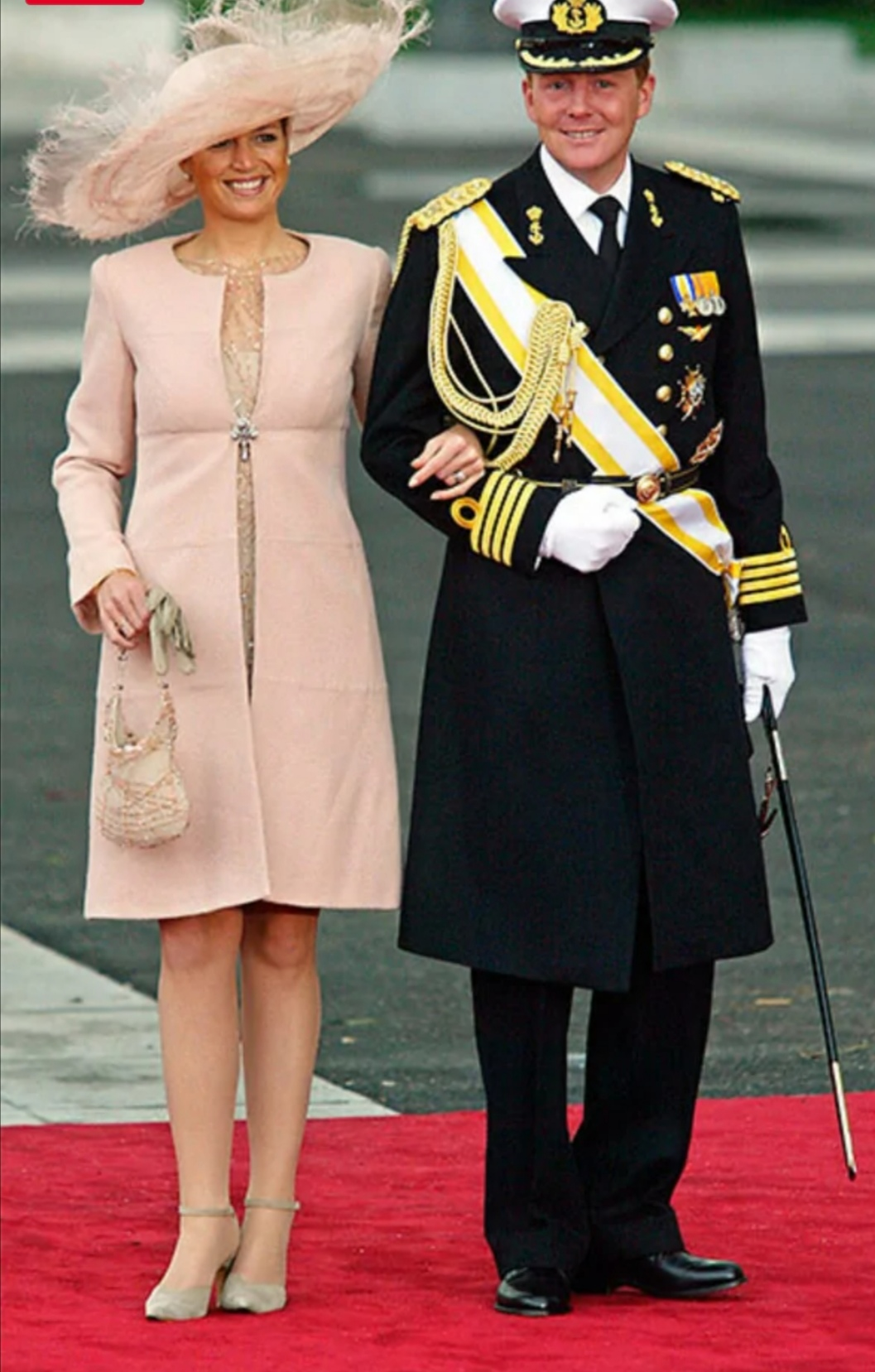 الملكة ماكسيما وزوجها الملك ويليم ألكسندر- الصورة من موقع hello magazine
