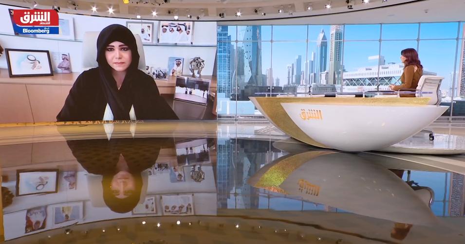 الشيخة لطيفة بنت محمد بن راشد آل مكتوم في البرنامج